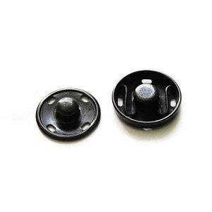 """Кнопки пришивные """"Люкс"""" 30 мм, цвет темный оксид (6 шт)"""
