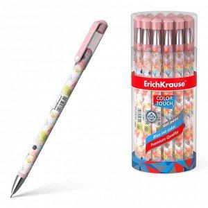 Ручка ErichKrause ColorTouch Flower Cocktail гелевая, цвет чернил синий2