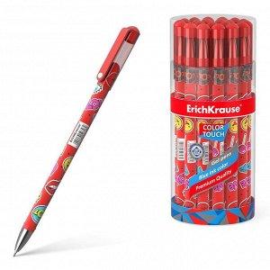 Ручка ErichKrause ColorTouch Sweet love гелевая, цвет чернил синий14