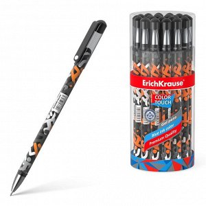 Ручка ErichKrause ColorTouch Walkers гелевая, цвет чернил синий24