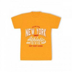 Футболка Эконом New York Желтый