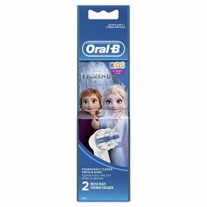 ORAL_B Насадки для электрических зубных щеток Детские Stages Power Frozen EB10 2шт
