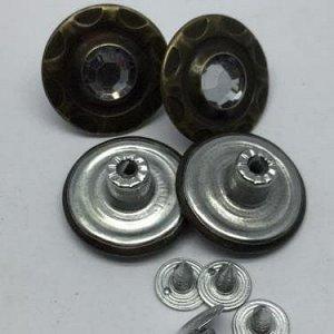 Джинсовые пуговицы №23, 20 мм (50 шт)