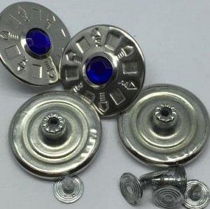 Джинсовые пуговицы №9, 25 мм (50 шт)