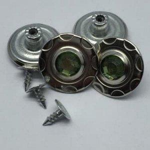 Джинсовые пуговицы №6, 20 мм (50 шт)