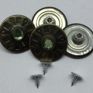 Джинсовые пуговицы №31, 25 мм (50 шт)