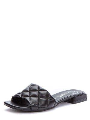 917008/04-02 черный иск.кожа женские туфли открытые