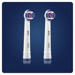 ORAL_B Насадки для электрических зубных щеток 3D White EB18р 2шт