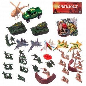 """Военные фигруки """"Спецназ"""" в наборе, 22 предмета220"""