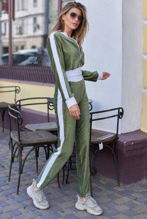 Прогулочный костюм Лана  хаки