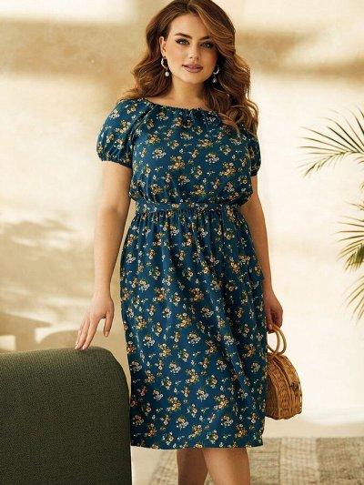 МОДНЫЙ ОСТРОВ ❤ Женская одежда. Весна-лето 2021  — платья Большие размеры — Платья