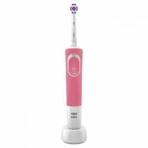 ORAL_B Электрическая зубная щетка Vitality D100.413.1 PRO 3D White тип 3710 Pink