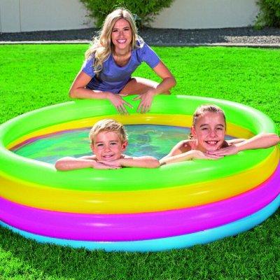 Все для летнего отдыха! Товары для кемпинга. Акция — Надувные бассейны  — Спорт и отдых