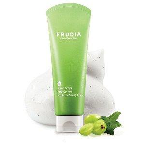 Frudia скраб-пенка себорегулирующая с зеленым виноградом | Frudia Green Grape Pore Control Scrub Cleansing Foam 145 мл