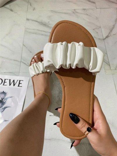 Лето 2021! Купальники! Летняя обувь, одежда, классные аксы — Сандали — Без каблука