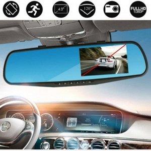 Зеркало-видеорегистратор с камерой заднего обзора Vehicle Blackbox DVR Full HD