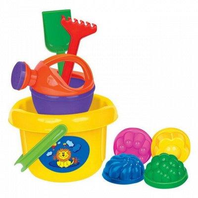 Магазин игрушек. Огромный выбор для детей всех возрастов — Лопатки, ведра, грабли, формочки — Спортивные игры