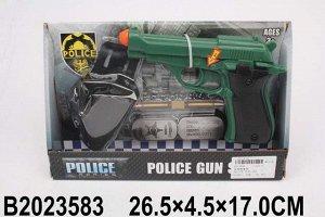 Набор полицейского 625-3 в кор.