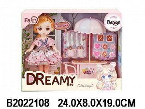 Кукла 6635-1 Женя с аксесс. в кор.