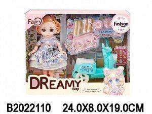 Кукла 6635-2 Женя с аксесс. в кор.
