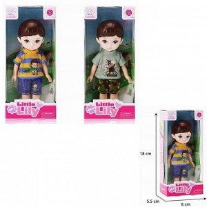 Кукла малышка 69026 Кевин в кор.