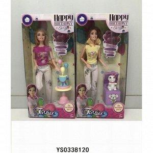 Кукла 200-93JX с аксесс. в кор.