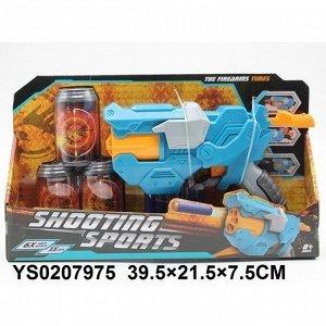 Бластер 6061 с безопасными пулями в кор.