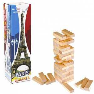 Игра Джанга Башня Париж 54 блока /Задира/