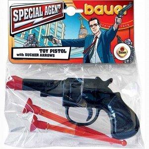 Пистолет Спецагент с присосками 116 Bauer