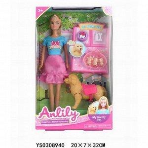 Кукла 99278 Anlily рождение щенков в кор.