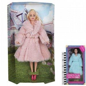 Кукла 1032 Соня в шубке в кор.