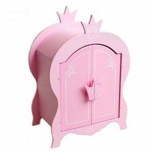 Шкаф для кукол Shining Crown розовое облако