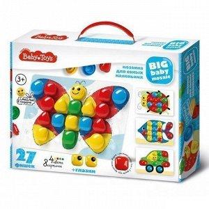Набор ДТ Мозаика для самых маленьких d40/4 27 эл. BABY TOYS 02520