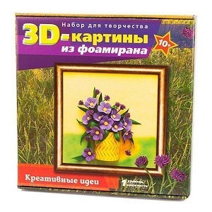 Набор ДТ Картина из фоамирана Полевые цветы FM-03