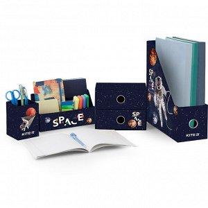 Органайзер настольный, 4 предмета, картон, Space Skating