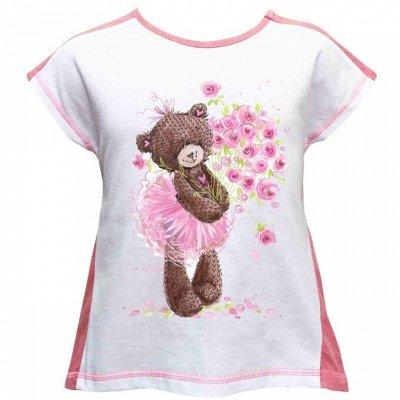 Все по 369р🧡 Стильные футболки с принтами для всех! — Детские футболки с принтами для девочек — Для девочек