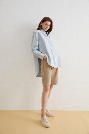 Блузка джинсовая жен. FASTA голубой