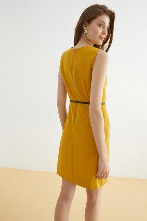 Платье жен. Oringio горчичный