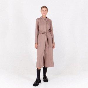 Платье женское MINAKU: Green trend цвет цвет какао, р-р 48