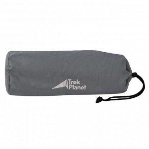 Подушка самонадувающаяся TREK PLANET Camper Pillow, цвет серый