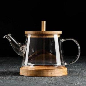 Чайник заварочный «Бамбук», 600 мл