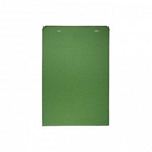 Коврик самонадувающийся кемпинговый TREK PLANET Relax 70 Double, цвет зелёный