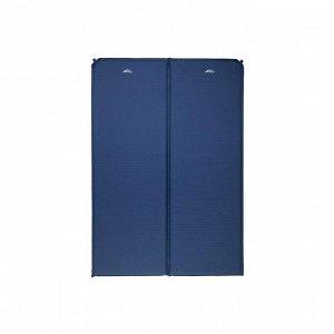 Коврик самонадувающийся кемпинговый TREK PLANET Camper 40 Double, цвет синий