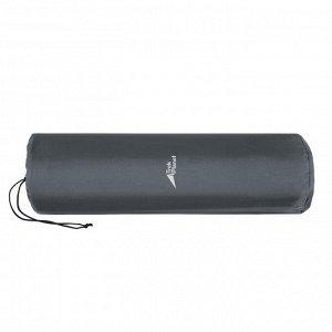 Коврик самонадувающийся кемпинговый TREK PLANET Relax 50, цвет серый