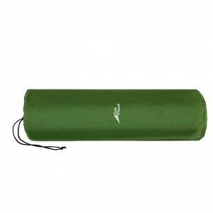 Коврик самонадувающийся кемпинговый TREK PLANET Relax 70, цвет зелёный