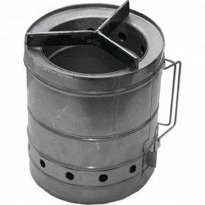 Печка туристическая щепочница Век «Тур-Б», d=200 мм