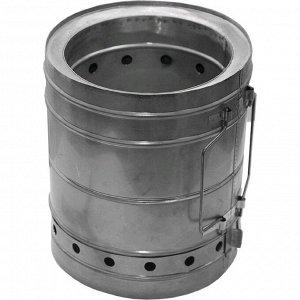 Печка туристическая щепочница Век «Тур-М», d=200 мм
