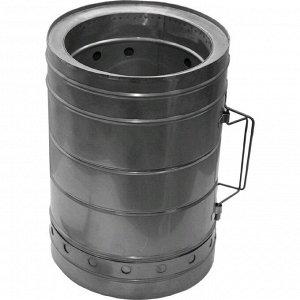 Печка туристическая щепочница Век «Тур-М», d=160 мм