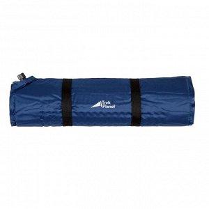 Коврик самонадувающийся кемпинговый TREK PLANET Camper 60, цвет синий