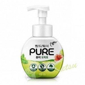 """Мыло-пенка для рук """"Pure Mojito"""" с натуральными ингредиентами и антибакт эффектом """"Мохито"""" 250 мл"""